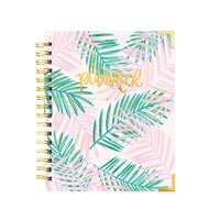 Palms Tropical Pink Planner | August 2019 - July 2020