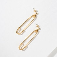 The Danza Safety Pin Earrings
