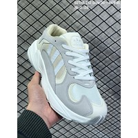 HCXX A631 Adidas Original Yung-1 Suede Mesh Running Shoes Gray White