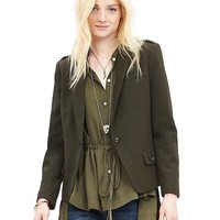 Banana Republic Womens Heritage Military Blazer