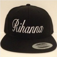 Rihanna snapback hat one size fits all