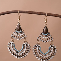 Bohemian Peacock Earrings