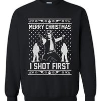 Star wars han solo Ugly Christmas Sweater sweatshirt Unisex Adults