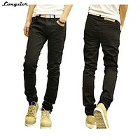 Straight Denim Men Jeans