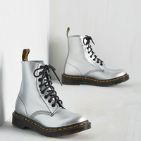 March Through Manhattan Boot in Mercury | Mod Retro Vintage Boots | ModCloth.com