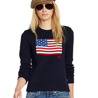 FLAG COTTON PULLOVER
