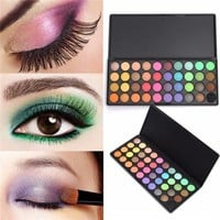 40 Colors Matte Eyeshadow Palette Eye Cosmetic Makeup Set Tender Smooth Earth Bright