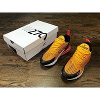 NIKE Air Max 270 yellow red size 36-45