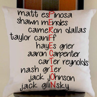 magcon boys  perfection pillow case one side or two side by mugxagrip