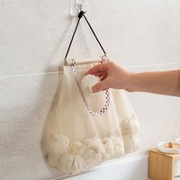 Mesh Vegetables Garlic Storage Bag
