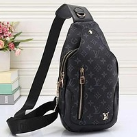 Louis Vuitton Women Leather Backpack Satchel Crossbody Bag