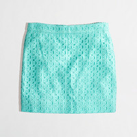 Factory exploded eyelet mini - Mini/A-Line - FactoryWomen's Skirts - J.Crew Factory