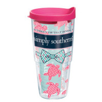 """Simpy Southern """"Southern Ties Turtles"""" Tervis"""