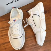 Moncler   Man Fashion Casual Shoes Men Fashion Boots fashionable Casual leather Breathable Sneakers