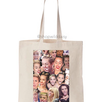 Miley Collage Tote