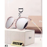 DIOR tide brand retro big box Polaroid polarized lens female color film sunglasses #3