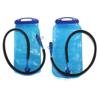 2L 3L PEVA non-toxic Wide Mouth Hydration Drinking Water Bladder Bag for Sports Hiking Camping Portable Cycling Bicycle Backpack