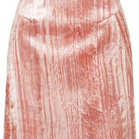 **Mayal Mini Skirt By Unique - Pale Pink