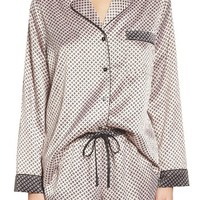 In Bloom by Jonquil Print Satin Pajamas | Nordstrom