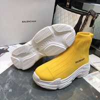 Balenciaga   Fashion Women Slipper Boots Sandals High Heels Shoes
