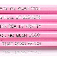 Mean Girls Pencil Set