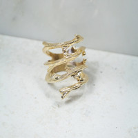 Out On A Limb Ring in Gold