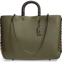 COACH 1941 Rogue Linked Leather Tote | Nordstrom