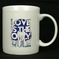 Bon Jovi Love s The Only Rule For Ceramic Mugs Coffee *