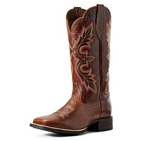 ARIAT Women's Breakout Western Boot 8 Rustic Brown