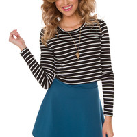 Caylee Striped Top