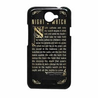 Game Of Thrones Nights Watch HTC One X Case