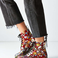 Dr. Martens Floral Pascal Boot - Urban Outfitters