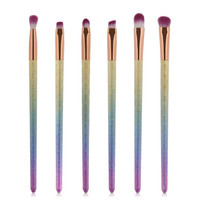Ombre Glitter Makeup Brushes