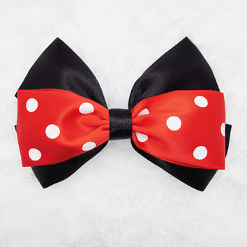 Red  hair bows,bow for girl's