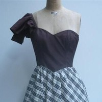 Vintage late 1970 Gunne Sax by Jessica McClintock evening dress