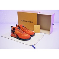 Louis Vuitton SNEAKER VNR Men Shoes ¡°Black&Orange¡±HX3456-02