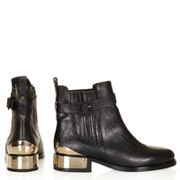 PAGO Buckle Chelsea Boots