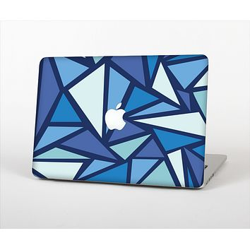 The Large Vector Shards of Blue Skin Set for the Apple MacBook Air 11""