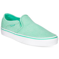 Vans Women's Asher Classic Slip-On Sneakers