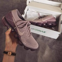 Nike Air VaporMax Flyknit Purple Sneakers