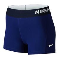 "Nike Women's Pro Cool 3"" Shorts"