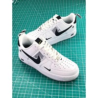 Nike Air Force 1 07 Lv8 Utility Pack Low White Balck Fashion Shoes