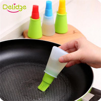 1 pc Silicone Oil Brush Baking Brushes Liquid Oil Pen Cake Butter Bread Pastry Brush BBQ Utensil Safety Basting Brush