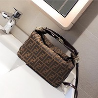 Fendi new style lunch bag classic fashion single shoulder bag