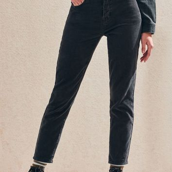 Washed Black Vintage Icon Mom Jeans | PacSun