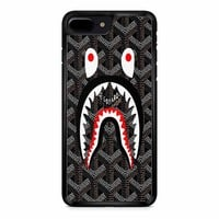Shark Bape Goyard Black iPhone 8 Plus Case