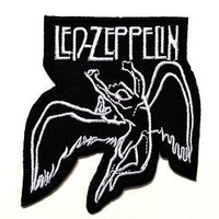"""""""Led Zeppelin"""" Band Patch"""