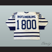 Drake Hotline Bling 1 800 Hockey Jersey Includes Patches