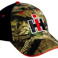 Case Ih Men's Camouflage Casual Cap Camouflage One Size