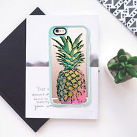 GOLDIE PINEAPPLE iPhone 6s case by Nika Martinez | Casetify